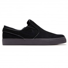 Nike Zoom Stefan Janoski Slip-On Shoes - Black Black Thunder Grey af826d19f42