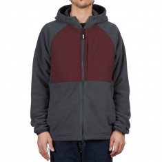 Nike SB Polartec Hoodie - Anthracite Burgundy Crush Black 3e6fcce73c579