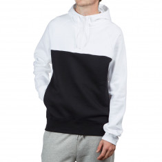Nike SB Icon Blocked Hoodie - White Black White 0f211a7c1e72a