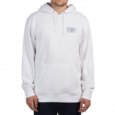 Vans Full Patched Hoodie - White/Real Teal