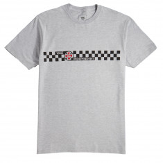6582a2bb2a Vans x Independent Checkerboard T-Shirt - Athletic Heather