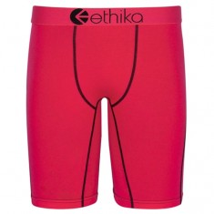 Ethika Roz Boxer Brief - Red