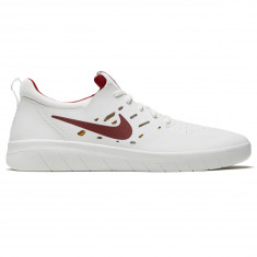 newest collection 26bf5 c7299 Nike SB Nyjah Free Shoes - Summit White Team Crimson