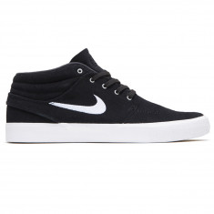 finest selection 1c1cb aff07 Nike SB Zoom Janoski Mid RM Shoes - Black White Gum Light Brown