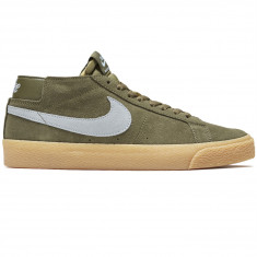 san francisco 5bec1 ce0ad Nike SB Zoom Blazer Chukka Shoes - Medium Olive Light Armory Blue