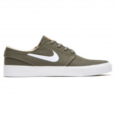 d75488815912 Nike SB Zoom Janoski Canvas RM Shoes - Medium Olive White Campfire Orange