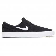 newest e10ff 1b86e Nike SB Zoom Janoski Slip RM Shoes - Black White White