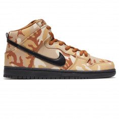 039abdacaa08 Nike SB Dunk High Pro Shoes - Parachute Beige Black Ale Brown