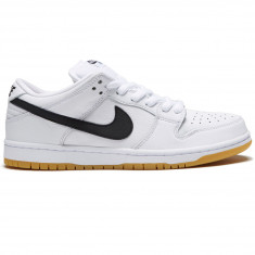 finest selection 8b406 5d1b6 Nike SB Orange Label Dunk Low Pro Shoes - White Black White Gum