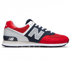 2e15b532ced New Balance 574 Pebbled Sport Shoes - Team Red Pigment