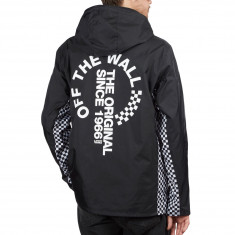 773990a8f81 Vans OTW Distort Anorak Jacket - Black