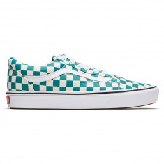 0a1ec853c70 Vans Comfycush Old Skool Shoes - Checker Quetzal True White