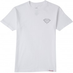 Diamond Supply Co. Brilliant T-Shirt - White/White