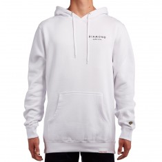 Diamond Supply Co. Stone Cut Hoodie - White