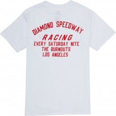 Diamond Supply Co. Speedway T-Shirt - White