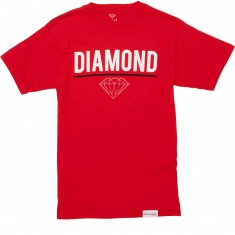 Diamond Supply Co. Strike T-Shirt - Red