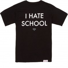 Diamond Supply Co. I Hate School T-Shirt - Black
