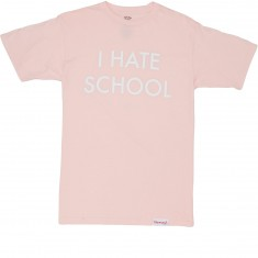 Diamond Supply Co. I Hate School T-Shirt - Pink