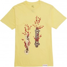 Diamond Supply Co. Blossom T-Shirt - Banana