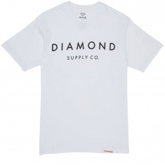 Diamond Supply Co. Stone Cut SP17 T-Shirt - White