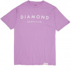 Diamond Supply Co. Stone Cut SP17 T-Shirt - Lavender
