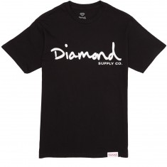Diamond Supply Co. OG Script SP17 T-Shirt - Black