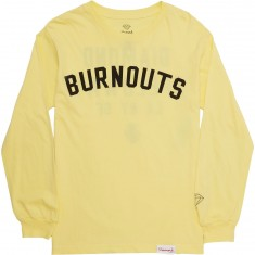Diamond Supply Co. Burnout Long Sleeve T-Shirt - Banana