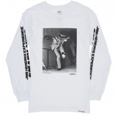 Diamond Supply Co. Jimi Hendrix Experience Long Sleeve T-Shirt - White