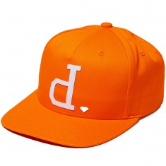 Diamond Supply Co. Un Polo Snapback Hat - Orange