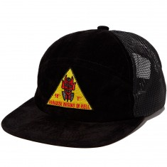 Diamond Supply Co. Paradise Snapback Velvet Hat - Black