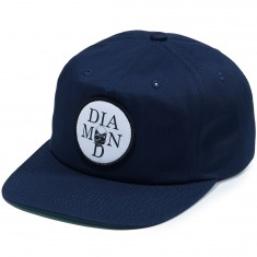 Diamond Supply Co. Skull Unconstructed Hat - Navy