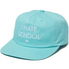 Diamond Supply Co. I Hate School Unstructured Snapback Hat - Diamond Blue