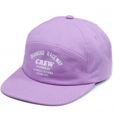Diamond Supply Co. Crew 7 Panel Hat - Lavender