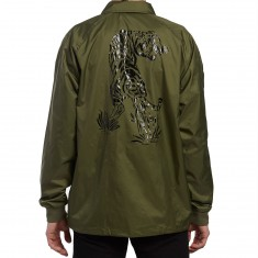 Diamond Supply Co. Pacific Tour Coaches Jacket - Military Green