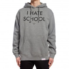 Diamond Supply Co. I Hate School Hoodie - Gunmetal Heather