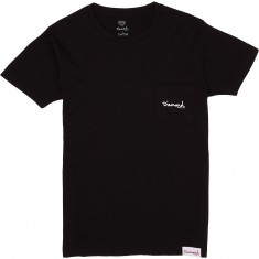 Diamond Supply Co. Mini OG Script Pocket T-Shirt - Black