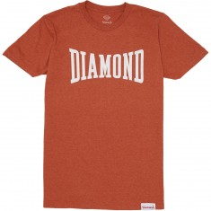 Diamond Supply Co. Crescendo T-Shirt - Burnt Orange