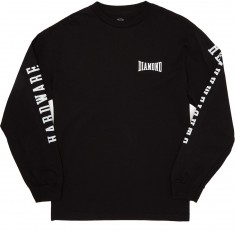 Diamond Supply Co. Cresecendo Long Sleeve T-Shirt - Black