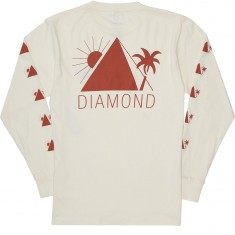 Diamond Supply Co. Oases Long Sleeve T-Shirt - Cream