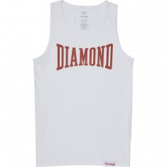 Diamond Supply Co. Crescendo Tank Top - White