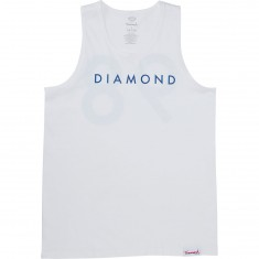 Diamond Supply Co. Practice Tank Top - White