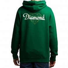 Diamond Supply Co. Champagne Cut Hoodie - Forest Green