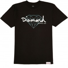 Diamond Supply Co. Brilliant Script T-Shirt - Black