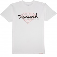Diamond Supply Co. Brilliant Script T-Shirt - White