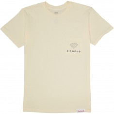 Diamond Supply Co. Futura Sign Pocket T-Shirt - Cream