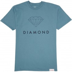 Diamond Supply Co. Futura Sign T-Shirt - Slate