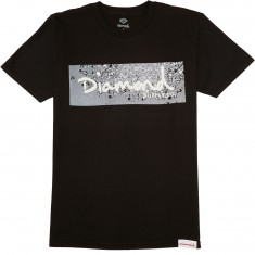 Diamond Supply Co. Scattered Box Logo T-Shirt - Black