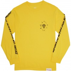 Diamond Supply Co. Outshine Longsleeve T-Shirt - Banana