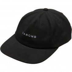 Diamond Supply Co. Leeway Unconstructed Snapback Hat - Black