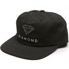 Diamond Supply Co. Futura Sign Unconstructed Snapback Hat - Black